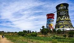 Soweto Towers - Orlando Power Station (stephenccwu) Tags: southafrica johannesburg soweto sowetotowers orlandopowerstation