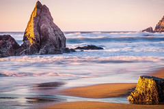 Silence... (Maksim Ileev) Tags: gray whale cove beach ocean sunset california pacifica montara highway1 pacific