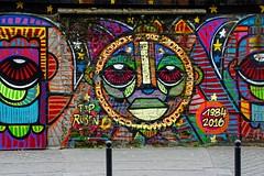 DA CRUZ Ourcq Living Colors (Edgard.V) Tags: paris parigi street art urban urbano arte callejero mural graffiti eyes yeux occhi plhos portrait retrato ritratto portraiture ourcq