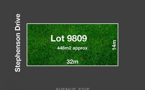 Lot 9809, 37 Stephenson Drive, Armstrong Creek VIC
