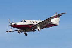 Private Pilatus PC-12 N774DK (jbp274) Tags: sba ksba airport airplanes pilatus pc12 bizprop
