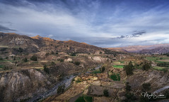 The fertile valley (marko.erman) Tags: colca canyon river peru latinamerica southamerica fertile agriculture preinca quechau panorama landscape perspective mountains highaltitude beautiful travel outside outdoor sony lateafternoon sunshine