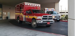 Medic 5, Pahrump Valley Fire & Rescue (Summerlin540) Tags: 911 112 ems emt paramedic rescue firedepartment fd nevada nyecounty desert rural ambulance