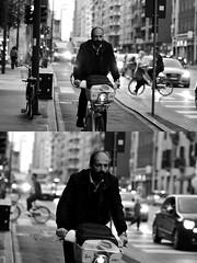 [La Mia Città][Pedala] con BikeMI (Urca) Tags: milano italia 2018 bicicletta pedalare ciclista ritrattostradale portrait dittico bike bicycle nikondigitale tina biancoenero blackandwhite bn bw 2018101562