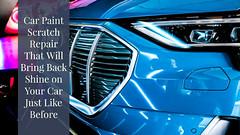 car paint scratch repair (salisburycollisioncentre123) Tags: car repairs brisbane paint scratch repair