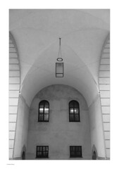 Around Slotsholmen, Mono (Michael Fleischer) Tags: slotsholmen copenhagen autumn sidelight tonality detail shadow blackwhite monochrome tamron sp 35mm f14 di usd nikon d810 arch