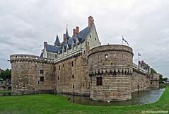 Chateau de Nantes  / FR (Mike Reichardt) Tags: architecture architektur bretagne france frankreich building gebäude schloss travel reisen nantes chateaudenantes