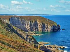 Near Cape Frèhel Brittany FR (Mike Reichardt) Tags: landscape landschaft bretagne brittany france frankreich capefrehel seascape