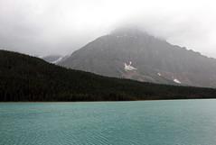 Grey Day at the Lake (JB by the Sea) Tags: banff banffnationalpark alberta canada september2019 rockymountains rockies canadianrockies icefieldsparkway highway93 waterfowllakes