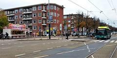 Lijn 80 en Bollen (Peter ( phonepics only) Eijkman) Tags: amsterdam city oliebollen bussen busses bus tramtracks cxx connexxion nederland netherlands nederlandse noordholland holland