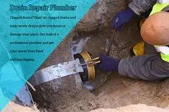Drain repair plumber (pearlplumbing02) Tags: drain cleaner repair plumber