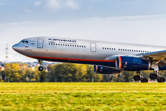Aeroflot A333 (denlazarev) Tags: baselaero mountains caucasus russia clouds canon air aviation airline airplane airport aircraft airliner sky spotting fly photo plane lightroom авиа авиация самолет outdoor airbus sochi adler aer urss сочи адлер aeroflot a330 vqbqz landing