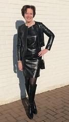 (valkex1) Tags: otkboots lady mature dress leather patent