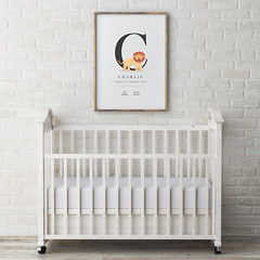 baby bed with mock up poster, 3d illustration (samknight.design) Tags: bed baby poster ups floor brend mock up mockup wood brick whitewine ligh frame decoration table white business blank template old black creative wall room design interior empty paper home picture art style background child 3d decor green apartment nobody kidsroom parenthood life family furniture architecture childhood garret play serbia