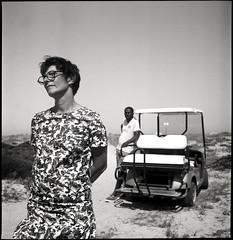 Au Travail -19-11-RlFlx 10 (Gilles_Ollivier_GeO) Tags: rolleiflex automat 6x6 modelk450 1951 ilfordpanf50 tetenalultrafin tropez artiste golfette pampelonne sainttropez noiretblanc