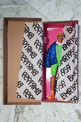 deboxing michael ... (photos4dreams) Tags: barbie mattel doll toy photos4dreams p4d photos4dreamz barbies girl play fashion fashionistas outfit kleider mode puppenstube tabletopphotography diorama scenes 16 canoneos5dmark3 ken bmr1959 madetomove male man mann deboxed michael