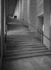 Alte Pinakothek (schromann) Tags: altepinakothekmünchenmuenchenmunichhansdöllgastdoellgastmuseumstairtrepperenovationrenovierungwiederaufbaubrickziegelbacksteinmasonry wiederaufbau