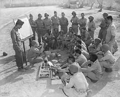 Soldados da Força Expedicionária Brasileira (FEB) na Itália, 1945 (Arquivo Nacional do Brasil) Tags: arquivonacional arquivonacionaldobrasil nationalarchivesofbrazil nationalarchives worldwarii segundaguerramundial feb forçaexpedicionáriabrasileira exército