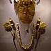 Golden burial mask