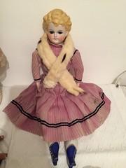 Miss Contance (tatika2mag) Tags: antiquedoll poupéeancienne poupéeenporcelaine bisquedoll