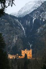 Schloss Hohenschwangau (Helgoland01) Tags: bayern bavaria deutschland germany schloss castle alpen alps hohenschwangau
