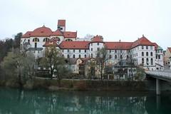 Füssen (Helgoland01) Tags: bayern bavaria deutschland germany schloss castle lech fluss river kirche church