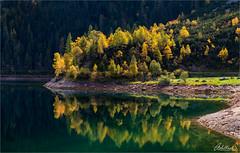 Autumn Splendour, Austria (AdelheidS Photography) Tags: landscape scenery reflection gosaulake alps gosau salzkammergut foliage cchangingcolours fall autumn austria adelheidspictures adelheidsmitt adelheidsphotography