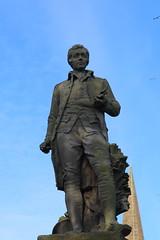Robert Burns Statue,Queen Elizabeth II Field,Montrose_nov 19_589 (Alan Longmuir.) Tags: queenelizabethfield robertburnsstatue tayside montrose