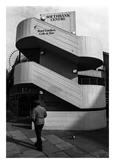 FILM - South Bank Centre (fishyfish_arcade) Tags: 35mm 800asa analogphotography bw blackwhite blackandwhite filmphotography filmisnotdead hp5 istillshootfilm london monochrome olympusom1 zuiko28mmf35 analogcamera film ilford mono streetphotography southbankcentre