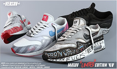 [ Versov // ] MAXOV LIMITED EDITION sneakers available at MAN CAVE (VERSOV STORE) Tags: versov max secondlfie 3dsmax mancave shoes sneakers event