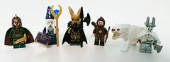 Fantasy Figbarf (LegoHobbitFan) Tags: lego moc creation build model figbarf custom purist minifig minifigures fantasy castle cyclops knight wizard medieval archer wolfpack