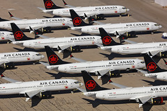 Air Canada, Boeing 737-8 Max, Tucson/Marana Pinal Airpark - Arizona (ColinParker777) Tags: boeing 737 737max max airliner airplane plane aircraft aeroplane airlines airways air grounded crash mcas aviation photography air2ground photoshoot many siblings sisterships airport desert usa us united states america apron tarmac parked parking disused unused canon 5dsr 5ds 100400 mkii l lens zoom telephoto pro aca ac canada cfsjj cfscy cgejl cgehv cftjv cfsdb ccehi cfskz mzj marana tucson pinal airpark kmzj