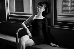 Sabrina Baycroft, the Bangkok Railway Station (Khun_K) Tags: kaisernchenimagepicturephot kaisernchenimagepicturephotographybloghighqualityoriginal portrait portraiture beauty beautiful beautifulgirl leica leicam10d