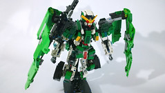 LEGO Gundam Dynames GN-002 (Demon1408 78-2) Tags: kit model toy chơi lego gundam 00 gn 02 lockon stratos celestial being figure mecha moc creation brick hero factory bionicle technic sniper dynames đồ