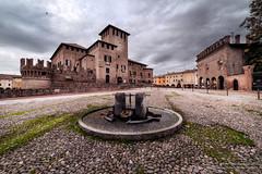 Fontanellato (antoniopedroni photo) Tags: fontanellato castellodifontanellato castello rocca borgo fontana ciottolato castle town middleages medioevo