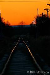 November 18, 2019 - Railroad tracks at dawn. (Bill Hutchinson)