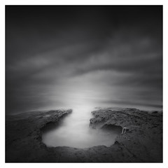 To the Sea (Marco Maljaars) Tags: longexposure lee filter marcomaljaars seascape sea water beach le bw blackandwhite monochrome mood canon canon70d ocean california backlight sky rock lajolla waterscape light clouds
