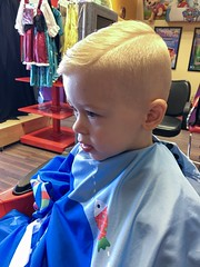 Haircut (Andrew d'Entremont) Tags: boy blond blonde little toddler haircut shave shaved side hairstyle short handsome cute dude
