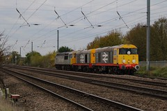 20118 + 20132 + 56091 (ok.so.basically) Tags: biggleswade class56 class20