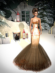 LuceMia - On9 Event (2018 SAFAS AWARD WINNER - Favorite Blogger -) Tags: on9event event saschasdesign dress lips stunneroriginals jumo hair whitney autumn breeze lipsglaring ecxlusive gown sl secondlife mesh fashion creations blog beauty hud colors marketplace models lucemia