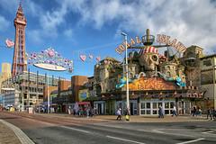 Blackpool, UK (crafty1tutu (Ann)) Tags: travel holiday 2019 unitedkingdom uk england blackpool seaside tower crafty1tutu canon5dmkiii canon24105lserieslens anncameron