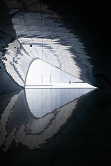 Imprint #1 (Dan Portch) Tags: imprint chroma club incheon airport street minimal tunnel reflection reflections seoul south korea scale fine art photography abstract