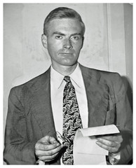 Federal worker charged with aiding Soviet Union: 1948 (Washington Area Spark) Tags: william remington elizabeth bentley spy soviet union us communist party young league loyalty oath board federal bureau investigation fbi conviction perjury prison jail murder testify senate committee washington dc district columbia 1948