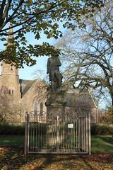 Robert Burns Statue,Queen Elizabeth II Field,Montrose_nov 19_587 (Alan Longmuir.) Tags: queenelizabethfield robertburnsstatue tayside montrose