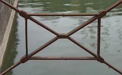 Railing 2 (hermann.kl) Tags: köln cologne rheinauhafen geländer railing detail