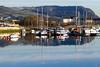 Boats Moored at Sandpoint Marina, River Leven, Dumbarton