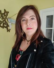 Bright Eyes (Joanne (Hay Llamas!)) Tags: transgender transwoman tg brunette tgirl cute uk brit british britgirl