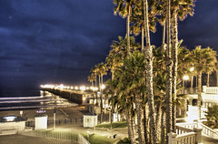 O'Side Night Walkabout 11-7-8-19 (rod1691) Tags: california united states nature beauty usa tropical paradise sunrise palm trees outdoor landscape seascape walkabout sunset photography travel beach sand sun pier strand canon40506070d walknshoot