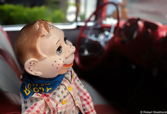 Well Howdy (Robert Streithorst) Tags: 1957 auto belair car chevy dody doll historical howdy interior vintage
