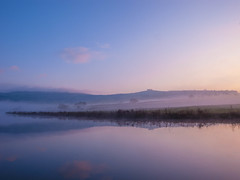 morning calm (strangesimon) Tags: tranquil morning calm beauty explore hike pastels colours autumn sunrise chill misty frosty minimal beautiful stunning reflections landscape countryside winter cold outside nature